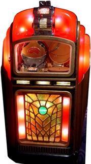 "1946-47 ""Pla-Mor"" Jukebox (wall box)"