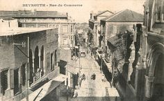 Commerce Street and Capuchin Church [1910s]