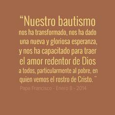 ¿A quién vas a llevar hoy, el amor redentor de Dios?  Lee más en: www.news.va/es/news/con-los-sacramentos-dios-nos-comunica-su-gracia-y