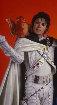 Michael Jackson as Capt EO with Fuzzball!