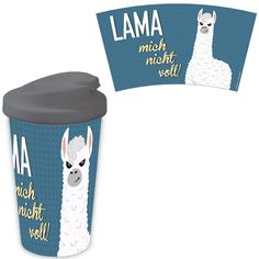 Sombo Coffee to go Lama blau Coffee To Go, Drink Sleeves, Drinks, Cold Drinks, Workplace, Mugs, Flasks, Drinking, Beverages