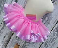 Daisy Duck  Lt. Pink Tutu with Lavendar Satin by PinkLemonadeOcala