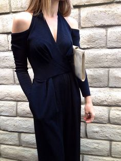 Vtg 90's Tadashi Black Cross Stretchy Palazzo/Jumpsuit/Romper/Onsie-S on Etsy, $62.00