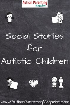 Most social stories for autistic individuals are used to educate and instruct how to respond to certain situations. They are also used to acknowledge and praise the successful completion of a task. article Social Stories for Autistic Children Coping Skills, Social Skills, Life Skills, Social Issues, Teaching Autistic Children, Children With Autism, Children Reading, Autism Activities, Therapy Activities