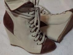 . Ankle Sneakers, Wedges, Boots, Fashion, Crotch Boots, Moda, La Mode, Heeled Boots, Wedge