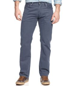 Levi's 514 Straight-Fit Pants, Boiler Blue Twill