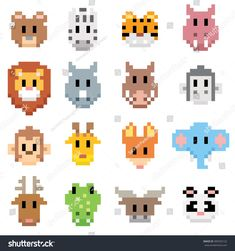 51 Best Pixel Art Images Pixel Art Cross Stitch Patterns