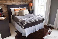 Basement guest room idea