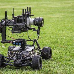 And here, a tero roams in the wild Rawr  Nice setup with a Phantom Miro for amazing slo-mo shooting! Photo by @cloakroom media #freefly #camerarig #tero #gimbal #phantom #phantommiro #1500fps #dji #filmshoot #setlife #gearporn #filmset
