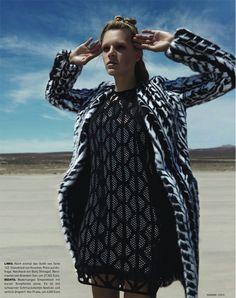 Brooke Nesbitt & Leila Goldkuhl Go 'Cool Glam', Lensed By Danilo Hess For Madame Germany January2014 - 3 Sensual Fashion Editorials   Art E...