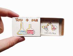 Una tarjeta de amor / tarjeta de aniversario / tarjeta para