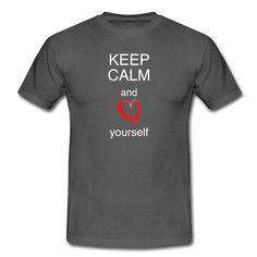 Keep calm hilft immer - besonders sich selbst zu lieben...  https://shop.spreadshirt.de/DaiSign/maennershirt+keep+calm+and+love+yourself-A110350996  leben, calm, Selbstfindung, Loved, yourself, selbstbewusst, Rotes Herz, Selbstbewußtsein, Liebe, Schrift, selbstvertrauen, esoterisch, Keep calm, Spiritualität, Keep calm and, Love me, Herz, Glaube, Spruch, Selbst, spirituell, Esoterik, Love, keep, Selbstliebe, Shirt, TShirt, Spreadshirt, Daisign,