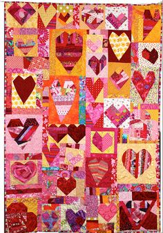 15 Minute Hearts Quilt for a friend. | by Bumble Beans