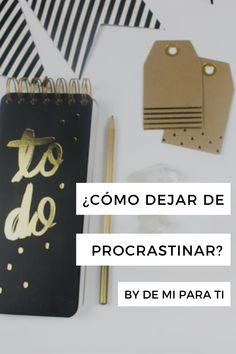 En este post te cuento sobre algunos métodos que yo he usado para hacer mis pendientes a tiempo y procrastinar lo menos posible, espero que sean igual de útiles para ti. XO