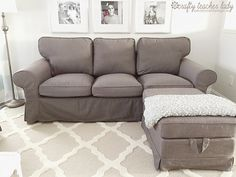 I recently took a little road trip down IKEA (the nearest being 2 hours away) to pick up a second EKTORP  sofa! I purchased my first Ektorp ...