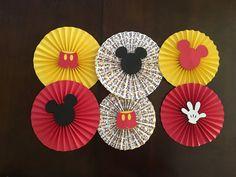 Rosetas de ratón de Mickey