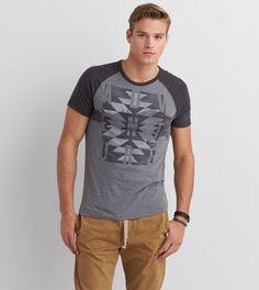 Tar Ash AEO Adventure Graphic Crew T-Shirt