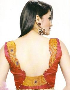 indian blouse designs for net sarees - Google Search