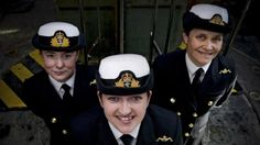 First female submariners in Royal Navy's 110-year history Three women have become the first female submariners in the 110-year history of the Submarine Service. #women #RoyalNavy #Britain #UK #submarine #military