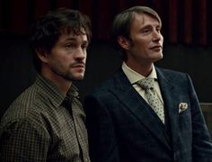 Will Graham & Dr. Hannibal Lecter (this gif sums up their personalities perfectly) Hannibal Lecter, Nbc Hannibal, Mads Mikkelsen, Hugh Dancy, Hannibal Tv Series, Sir Anthony Hopkins, Bryan Fuller, Will Graham, Horror Movies