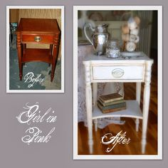Frenchy Table and a Special Bowl Story           Leather Top Console Table           How to Transfer Quotes onto Fabric Quickly and E...