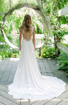 The Blushing Bride Boutique is one of the largest Retailers in Texas for Lillian West Wedding Gowns! You'll find in our Lillian West Collection an assortment of Ultra Boho Styles, Romantic … Wedding Dress Sleeves, Elegant Wedding Dress, Perfect Wedding Dress, Lace Dress, Wedding Dresses, Lace Bodice, Wedding White, Boho Wedding, Lillian West Wedding Gowns