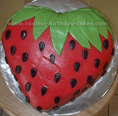 Coolest FruitShaped Creative Cakes Homemade birthday cakes