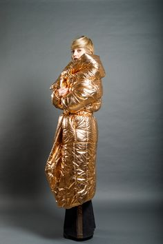 Dip Dye, Copper, Statue, Metal, Fabric, Silver, Red, How To Make, Handmade