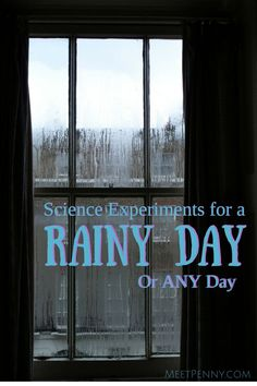 NEW at Meet Penny: Rainy Day or Any Day Science Fun!