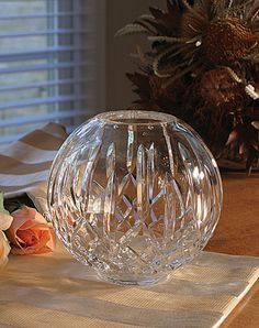 Love Rosebud vases...especially when they are Waterford