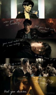 """Marianas Trench: Ever After videos. """"Once upon a time, I awoke in a strange place. Marianas Trench Lyrics, Marianas Trench Band, Emo Bands, Music Bands, Marianna Trench, Band Quotes, Music Quotes, Josh Ramsay, Canadian Boys"""