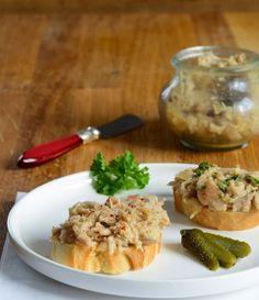 Rillettes de poulet rôti (Rillettes von gegrilltem Hähnchen)   Französisch Kochen by Aurélie Bastian   Bloglovin'