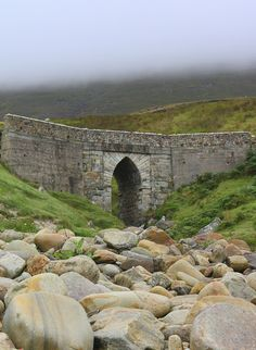 Ireland : County Mayo - Bridge above Keem Strand, Achill by fainleog, via Flickr