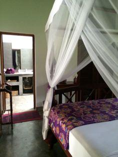Chambre mauve - Villa Sepalika au Sri Lanka