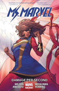 Ms. Marvel (2014-2015) MS. MARVEL VOL. 7: DAMAGE PER SECOND Issue (Digital)