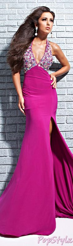 Tony Bowls Magenta Gown I could never wear this however it is a beautiful gown.  A girl can wish! :)
