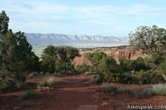 Otto's Trail: description, photos, GPS map, and directions to a great view of Independence Monument in Monument Canyon at the heart of Colorado National Monument Colorado National Monument, Colorado Trail, Trail Maps, Great View, Country Roads, Outdoor, Vacation, Usa, Outdoors
