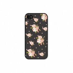 Field Trip by Amy Lowry iPhone 4/4s Case in Floral Dot available at www.poppyarts.com!  $22  This iPhone 4/4s case combines two of our favorite prints, floral and polka dots!  #amylowry #fieldtrip #iPhone #floral #polkadots #poppymadebyhand