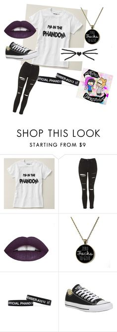 """""""Chillin with the Pham"""" by mstoff ❤ liked on Polyvore featuring Topshop, Converse, women's clothing, women, female, woman, misses and juniors"""