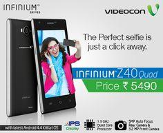 #Videocon #Infinium Z40Quad opens up a plethora of opportunities for you. - http://www.videoconmobiles.com/z40quad