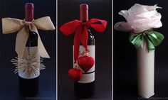 wine bottle gift wrap