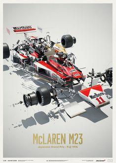 Formula 1 Artworks & Posters by Automobilist James Hunt, U2 Poster, Automobile, Japanese Grand Prix, Formula 1 Car, F1 Racing, Drag Racing, Car Posters, Car Drawings