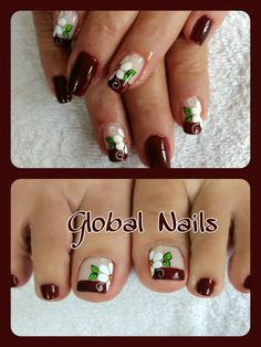 Toe Nail Art, Toe Nails, Mani Pedi, Manicure And Pedicure, Nail Designs Spring, Nail Art Designs, Cute Pedicure Designs, Cute Pedicures, Spring Nails