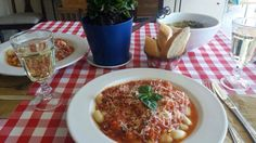Gnocchi en Salsa Pomodoro