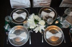 #Durango_Colorado_Wedding_Planner, #diamond_wrap #emerald #wedding #silver #bling #napkin_wrap #Celebrations www.theeventpro.com