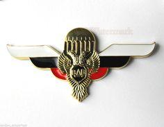 "RUSSIAN RUSSIA SOVIET CCCP PARATROOPER LARGE JUMP WINGS EMBLEM PIN BADGE 2.7 """