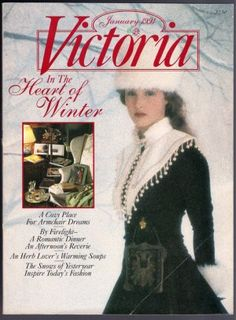 One of my favorite issues of the VICTORIA magazine...so beautiful...