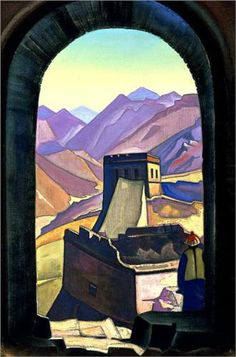 Great Wall of China - Nicholas Roerich