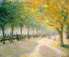 Hyde Park, Londres : par Camille Pissarro                                                                                                                                                      Plus