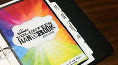 Free downloadable and customizable Volunteer Leader Handbook.  from Shine Youth Ministry, NY using framework from Orange curriculum, Northpoint and Simply Youth Ministry.